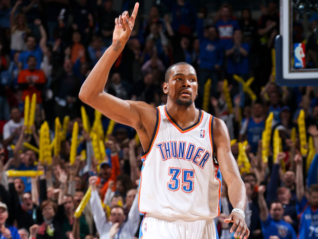 Seed Watch 2013: San Antonio Spurs vs. Oklahoma City Thunder