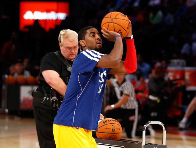 Kyrie Irving wins 2013 Foot Locker Three-Point Contest