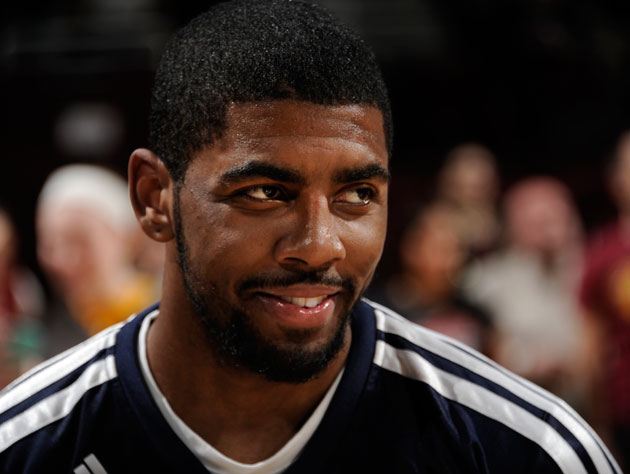 Kyrie Irving gets cheeky with Pete Holmes in a goofy interview …