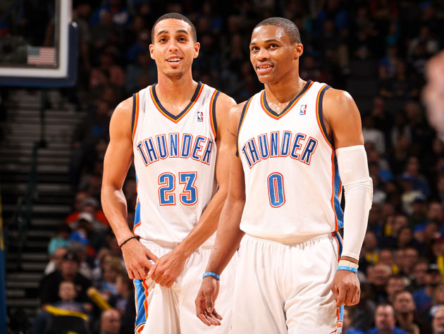 The Oklahoma City Thunder own the NBA's best offense, with help…