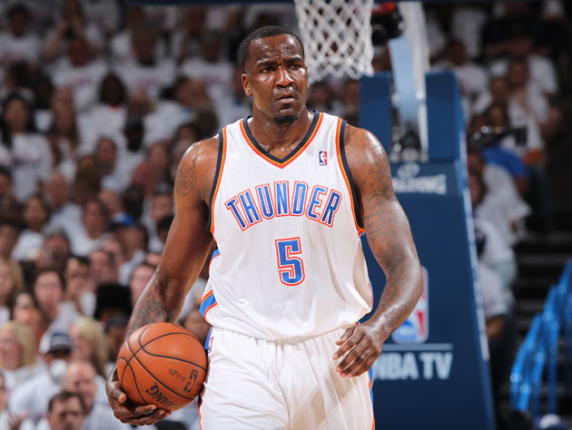 After a disappointing 2012-13 season, Kendrick Perkins is tryin…