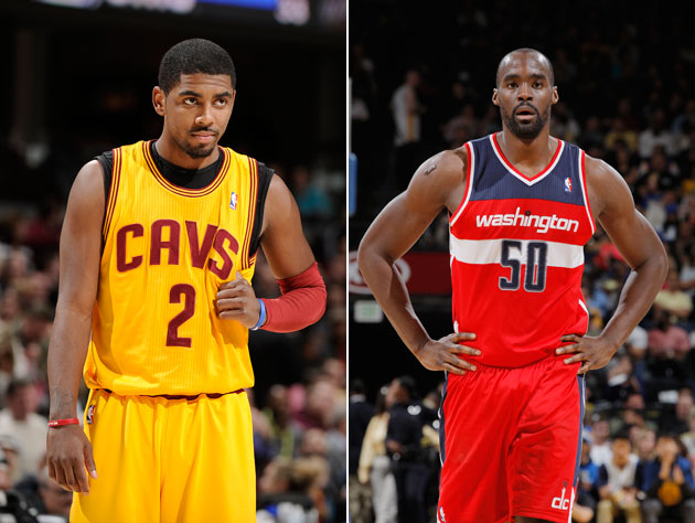 The Washington Wizards and Cleveland Cavaliers are ending 2012-…