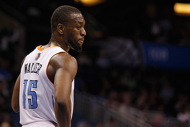 Bobcats' Kemba Walker likely out two weeks with sprained left a…