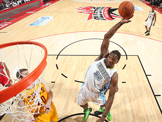 Kenneth Faried wins BBVA Rising Stars MVP as Team Chuck rolls T…