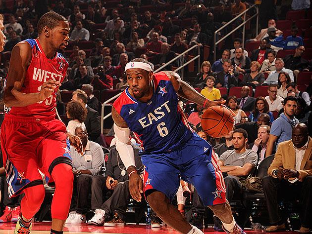 2014 NBA All-Star starters announced: LeBron, Durant lead all v…