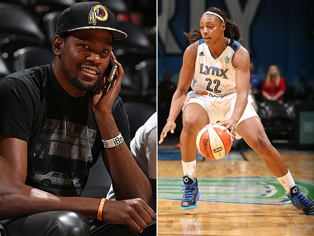 Kevin Durant's engaged to Monica Wright of WNBA's Minnesota Lyn…