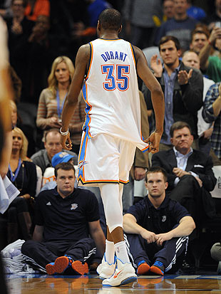 Kevin Durant earns 1st career ejection late in Thunder loss to …