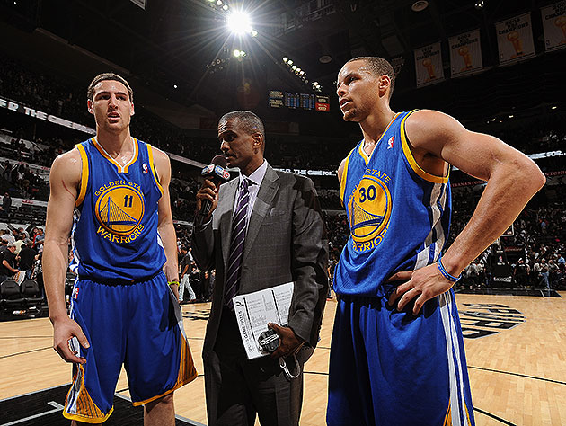 Warriors must get Steph Curry, Klay Thompson going to win, no m…