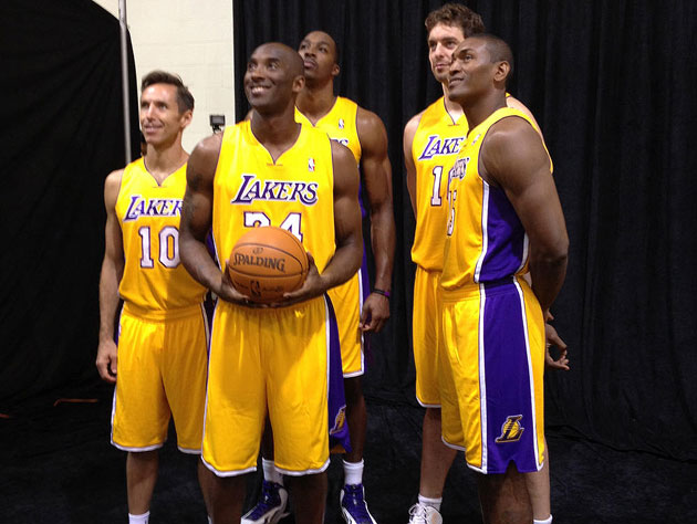 The Los Angeles Lakers want to remind you that NBA champions ar…