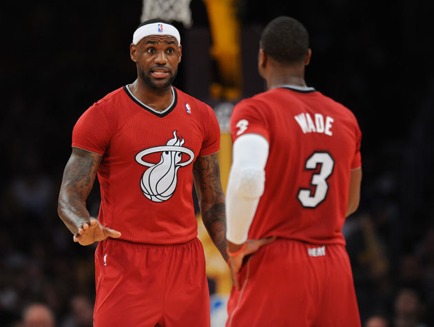 LeBron James bemoans the fact that the Miami Heat always seem t…