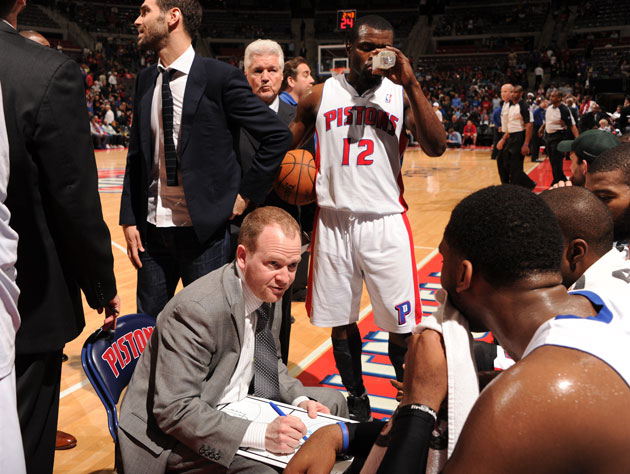 Lawrence Frank has been let go as Detroit Pistons' head coach