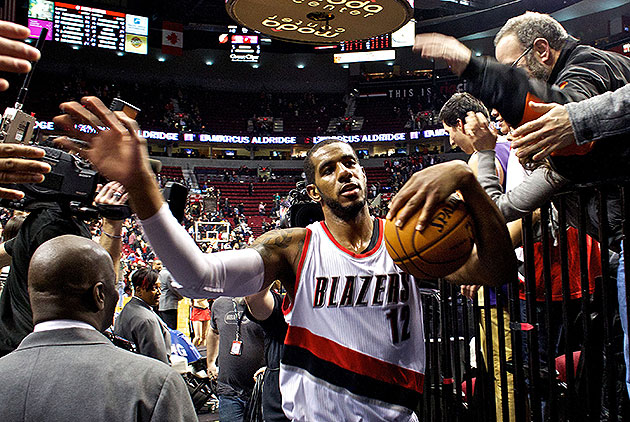 Blazers' LaMarcus Aldridge on All-Star voting: 'I think I defin…