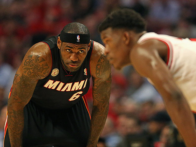 Heat hold Bulls to franchise playoff-low 65 points, win Game 4 …