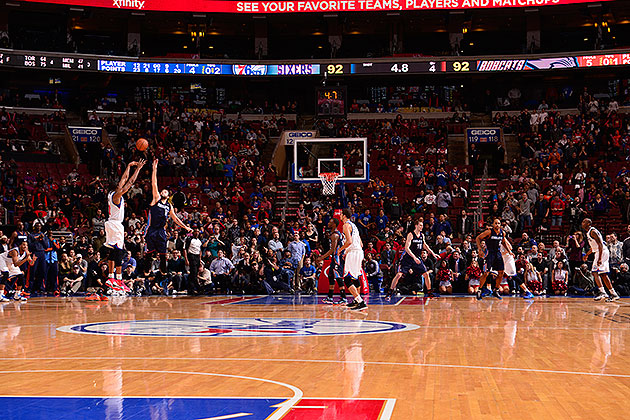 Thaddeus Young hits game-winning 3-pointer to push 76ers past B…