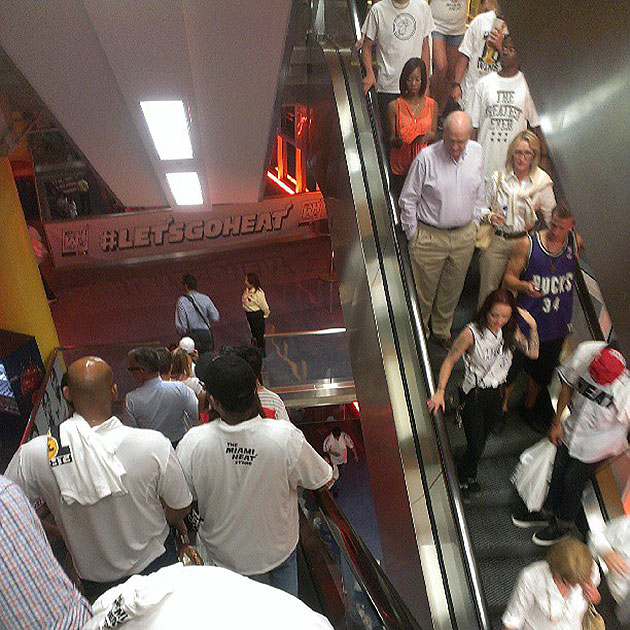 Miami Heat fans leave NBA Finals Game 6 early, not allowed back…