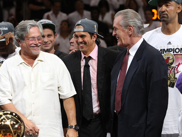 "Miami Heat owner Micky Arison: Owning a team ""is a hobby of pas…"