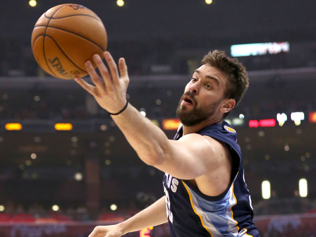 Grizzlies' Gasol named Kia Defensive Player of the Year