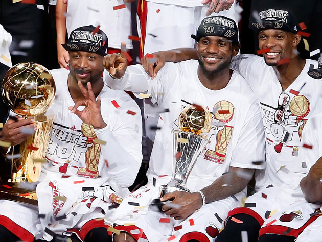 Miami Heat takes what is theirs, downing the San Antonio Spurs …