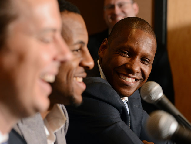 Nuggets' Ujiri honored as NBA's top executive