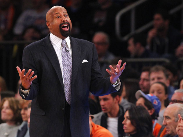 There are rumors about Mike Woodson's job status in New York ag…