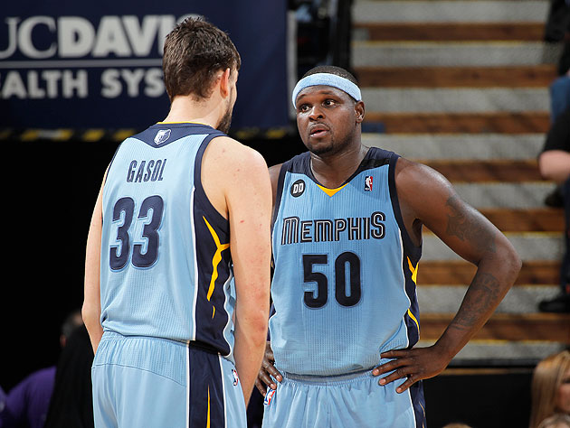 Zach Randolph is scared of cats