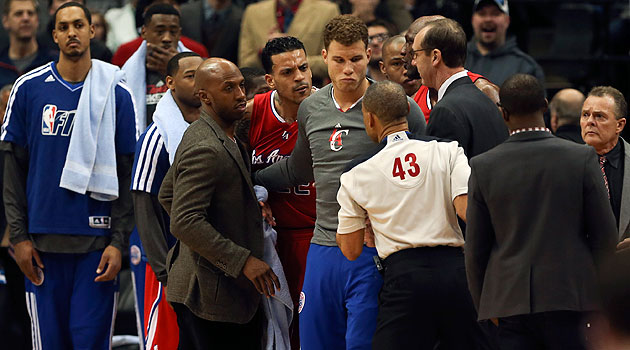 Clippers' Matt Barnes suspended 1 game for 'striking' neck of W…