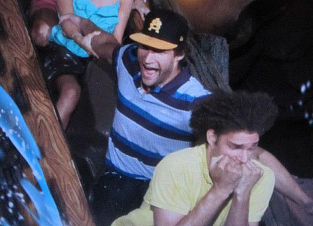 Robin Lopez doesn't like Splash Mountain as much as Brook Lopez…