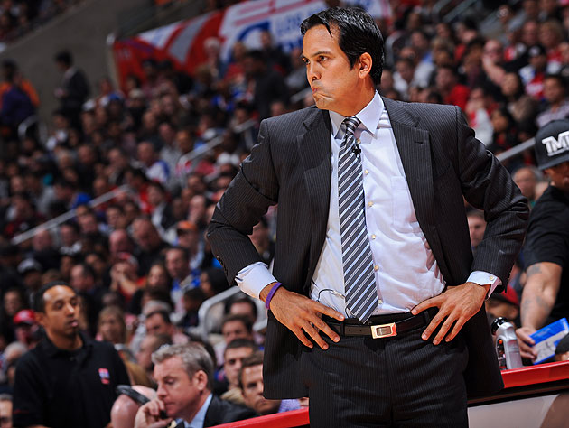 Create-a-Caption: Erik Spoelstra is not impressed
