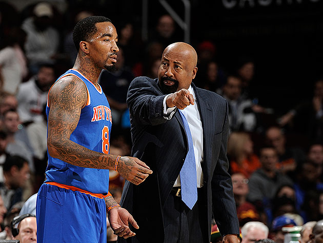 The Knicks are staying in an N.Y. hotel under 'somewhat of a cu…