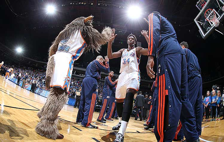 NBA suspends Thunder C Hasheem Thabeet 1 game for head-butting …
