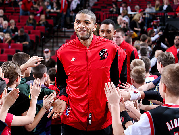 "Nicolas Batum pulls off the rare '5X5""² stat line on Sunday nig…"