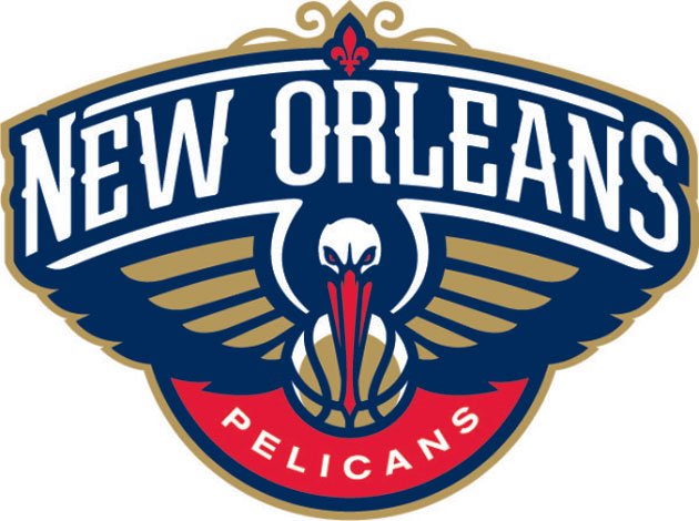 The New Orleans Pelicans unveil the team's new logo