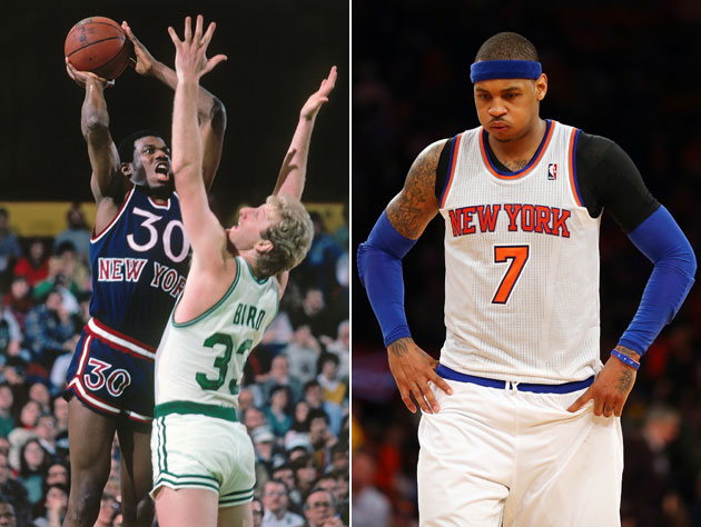 Bernard King harshly but accurately analyzes Carmelo Anthony on…