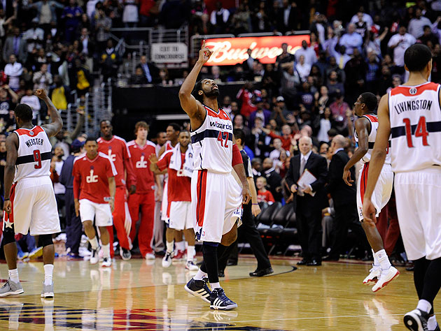 Wizards win 'on the road at home' over Heat, 105-101, as RGIII …