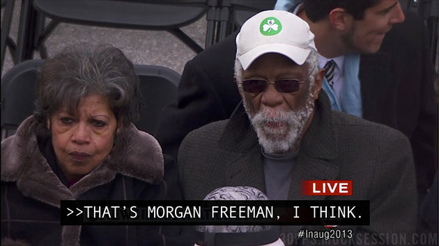 ABC's George Stephanopoulos confuses Bill Russell for Morgan Fr…