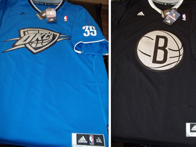 The NBA's apparent Christmas Day team jerseys are predictably t…