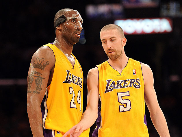 Kobe Bryant gave Steve Blake a helicopter ride to a doctor's ap…