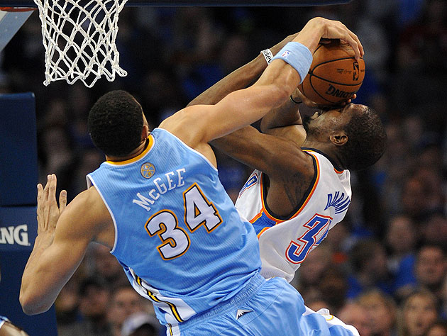 Create-a-Caption: JaVale McGee totally hates Kevin Durant's fac…