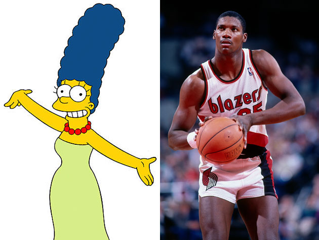 The inspiration for Marge Simpson was a Portland Trail Blazers …