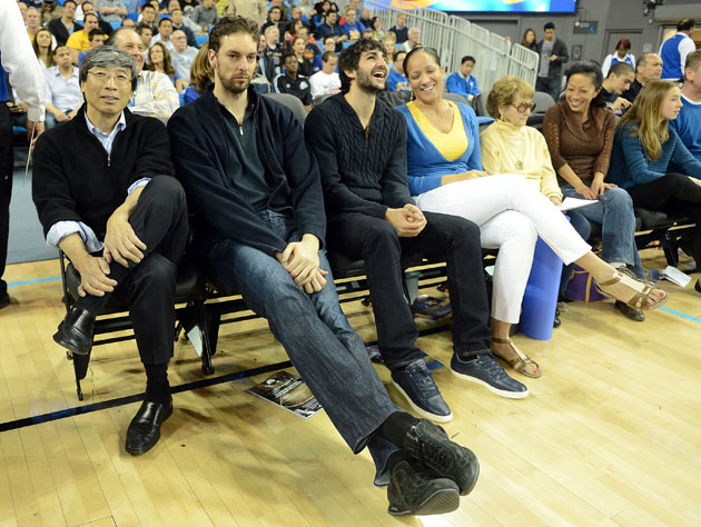 Pau Gasol was as surprised as anyone when told that he could be…