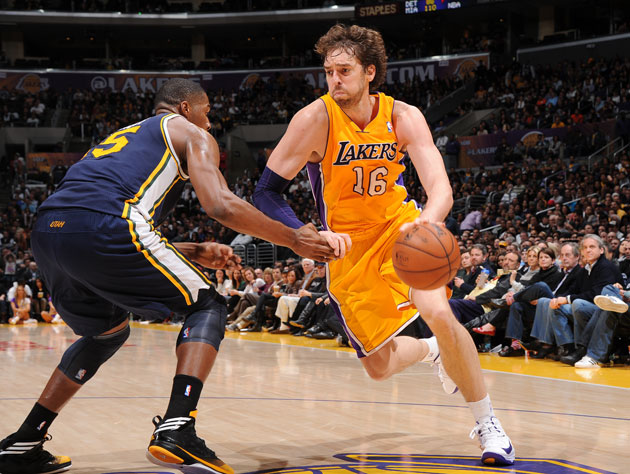 Seed Watch 2013: L.A. Lakers vs. Utah Jazz