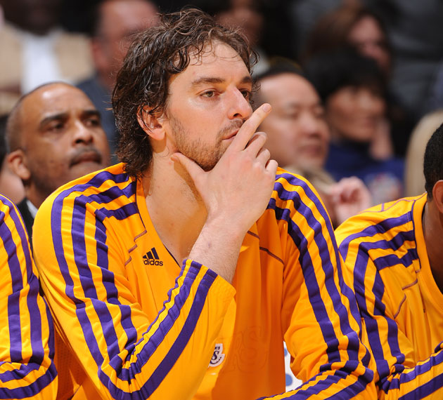Pau Gasol will sit for a while, as the Lakers decide to rest hi…