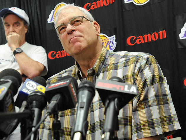 Does Phil Jackson want to coach the Los Angeles Lakers? Who kno…