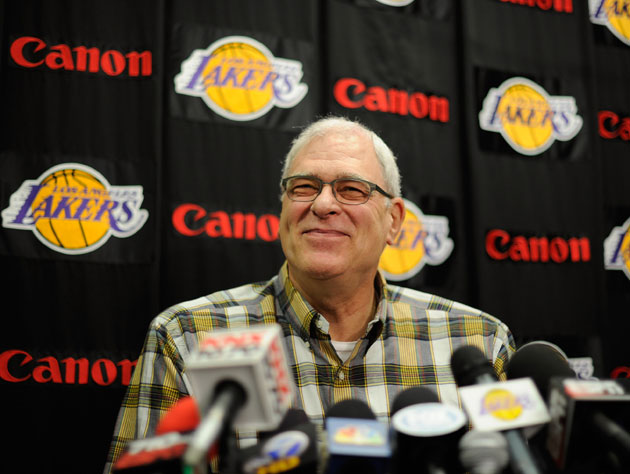 Phil Jackson basically signs off on his Laker and coaching care…