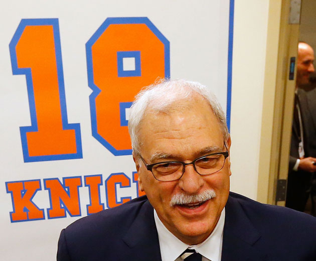 Report: Phil Jackson 'itching' for a return to NBA