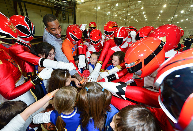 Why J.R. Smith: Basketball Power Ranger actually kind of makes …