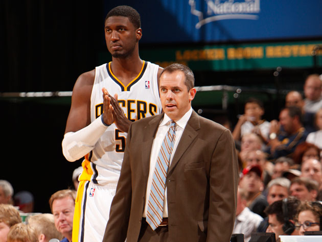Roy Hibbert and the Indiana Pacers are struggling mightily in t…