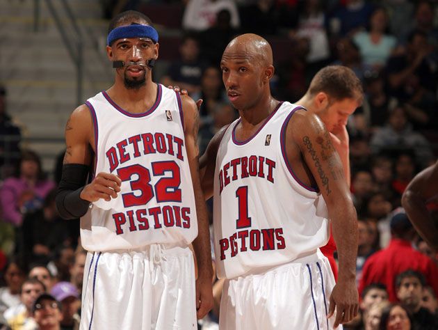 Richard Hamilton talks about the terrible day that the Pistons …