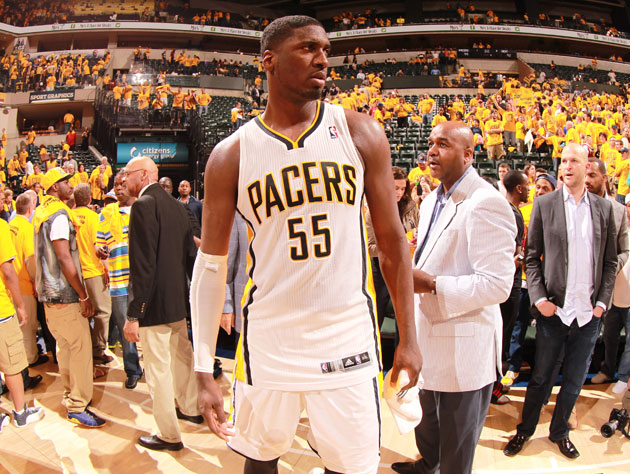 Roy Hibbert has stepped toward stardom in the 2013 NBA playoffs