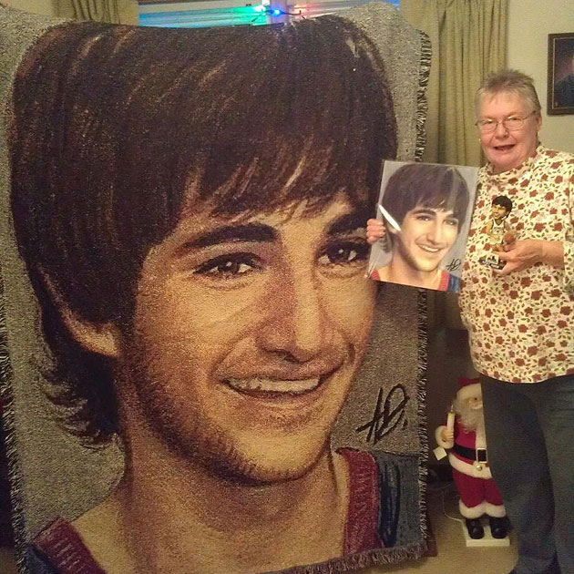 Ricky Rubio's biggest and coldest fan commissioned a giant blan…